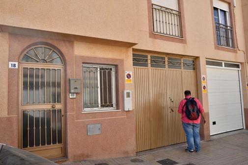 La vivienda de Las Norias de Daza donde Ana María se dirigió en...