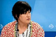 La parlamentaria Eba Blanco.