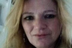 María Dolores Sandoval, la pareja desaparecida del detenido.