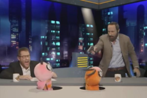 El programa Polònia realizó una parodia de la visita de Abascal a El...