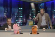 El programa Polònia realizó una parodia de la visita de Abascal a El Hormiguero