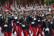 Desfile de las Fuerzas Armadas por el 12 de octubre