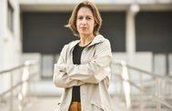 La escritora Katixa Aguirre, la semana pasada en Leioa.