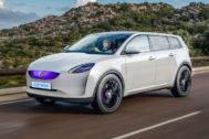 Teaser que imaginaba cómo sería el primer coche eléctrico de Dyson