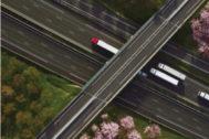 Imagen de recurso de varias carreteras gestionadas por Abertis.