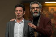 Josep Manel Casany i Alfred Picó passegen pels escenaris valencians amb 'L'electe'.
