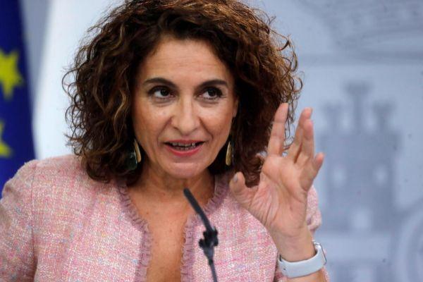 La ministra de Hacienda en funciones, María Jesús Montero, en la...