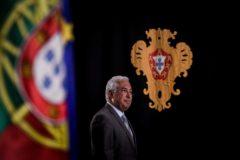 El primer ministro portugués y líder del Partido Socialista, Antonio Costa, ofrece una rueda de prensa en el Palacio de Belem, en Lisboa.