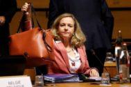 La ministra de Economía en funciones, Nadia Calviño,