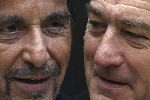 Al Pacino y Robert De Niro.