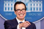 El secretario del Tesoro de EEUU, Steven Mnuchin.