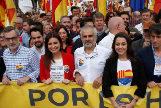 El constitucionalismo pide en Barcelona no indultar a los presos
