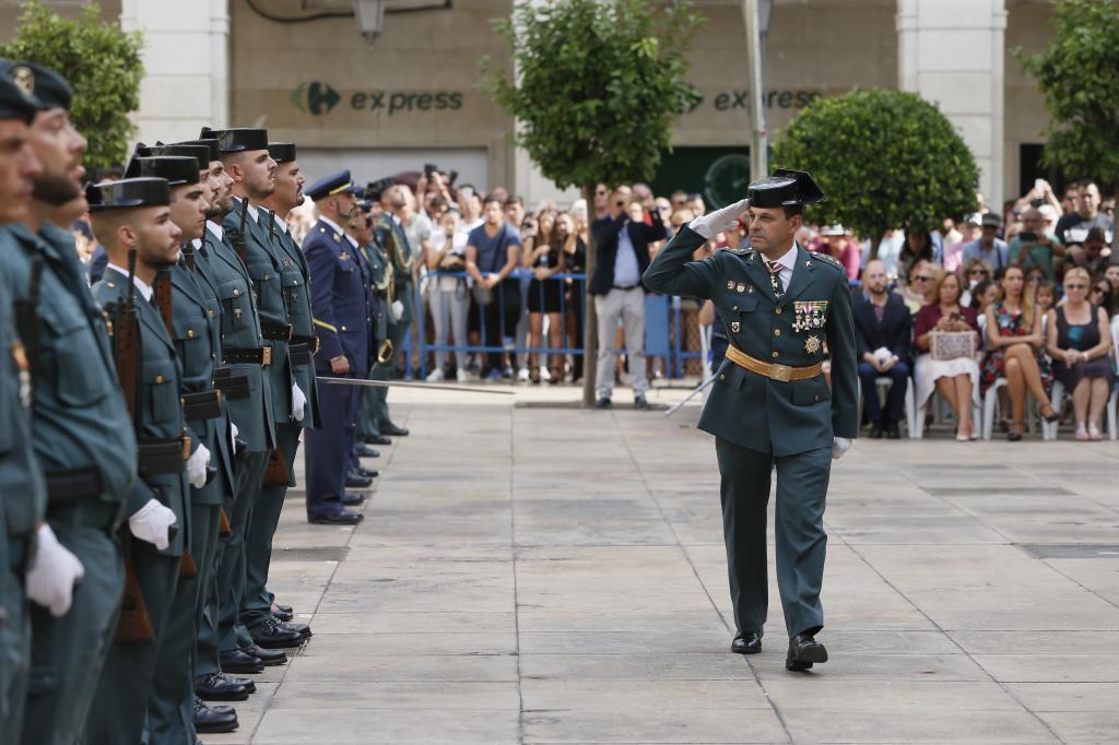 Actos de la conmemoración en Alicante  del 12 de octubre, día de la patrona de la Guardia Civil, la virgen del Pilar