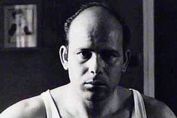 El artista Gabriel Cualladó en un autoretrato.