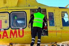 El Sepla denuncia la inseguridad del helicóptero del IB-Salut en la isla de Ibiza.