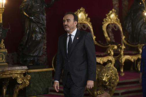 El presidente de la Sala de lo Penal del Supremo, Manuel Marchena, en...
