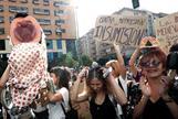 La activista rusa de Pussy Riot María Alyokhina 'Masha' apoya a las encausadas por la procesión del coño insumiso en Sevilla.