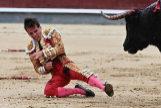 Gonzalo Caballero, tras ser corneado este 12 de octubre en Las Ventas.