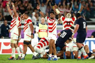 Japón hace historia ante Escocia y se mete en los cuartos de final