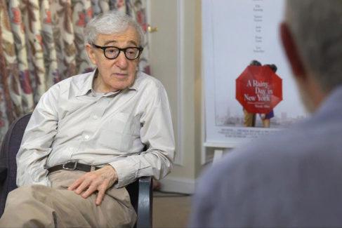 Woody Allen y Fernando Trueba.