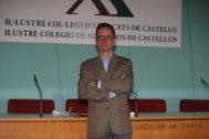 Manuel Mata es el presidente del Colegio de Abogados de Castellón.