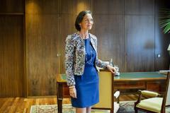 La ministra en funciones de Industria, Comercio y Turismo, Reyes Maroto
