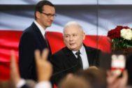 El líder del partido Ley y Justicia, Jaroslav Kaczynski.