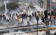 Protests against Ecuador's President Moreno's austerity measures in <HIT>Quito</HIT>