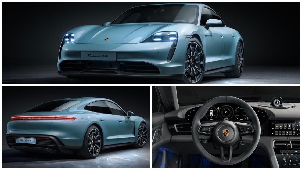Porsche Taycan 4S: así es la versión de acceso del deportivo eléctrico
