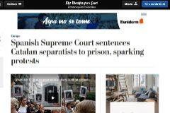 Así ven la sentencia del 1-O en la prensa internacional