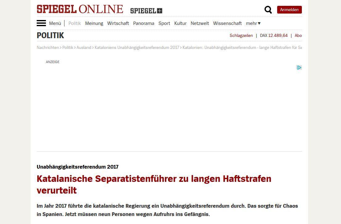 Los medios alemanes se han hecho eco de la sentencia del Tribunal...