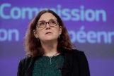 Cecilia Malmström, comisaria de Comercio de la UE.
