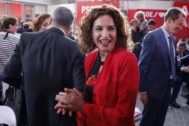 La ministra de Hacienda en funciones, María Jesús Montero.