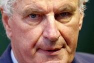 El negociador jefe de la UE, Michel Barnier, en Luxemburgo.