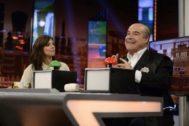 Maribel Verdú y Antonio Resines revelaron en El Hormiguero la bonita tradición que mantienen para celebrar su amistad