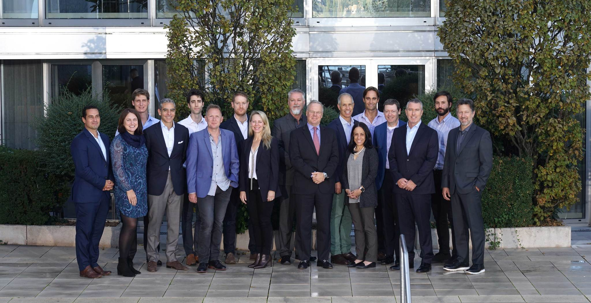 Miembros de Libra, en la reunión de este lunes en Ginebra (Suiza).