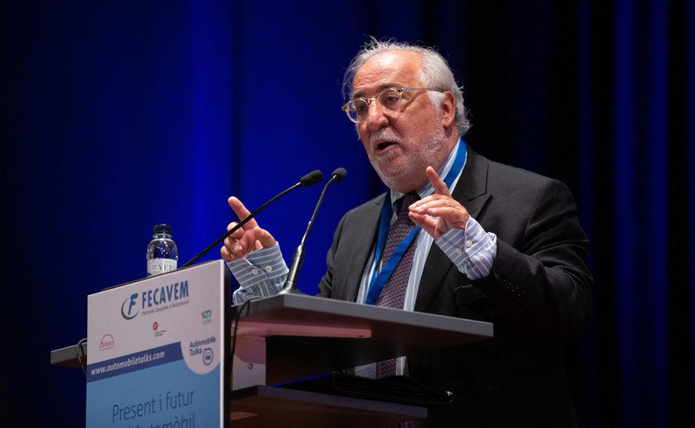 El director general de Tráfico, Pere Navarro, en el foro 'Automobile Talks'.