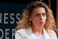 La directora general de Peugeot España y Portugal, Hélène Bouteleau.