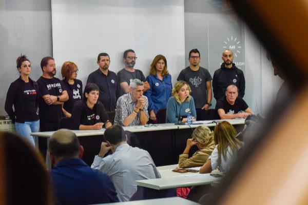 Los sindicatos ponen en jaque de nuevo a la concertada con una huelga de un mes entre el 7 de noviembre y el 5 de diciembre