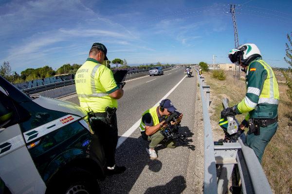 Control de carreteras: ¡alto! a la imagen recaudatoria de la Guardia Civil