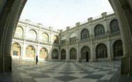 Patio del Rectorado de la Universidad de Sevilla.