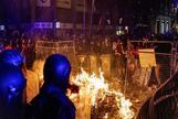 Arde Cataluña después de alentar Torra las protestas
