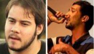 Los raperos Pablo Hasel y Valtonyc.
