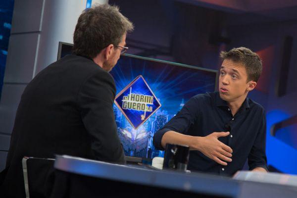 Pablo Motos ha recibido críticas por su entrevista a Íñigo Errejón...