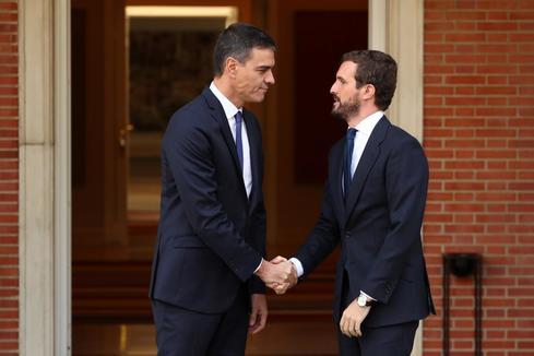 Casado exige a Sánchez que rompa sus acuerdos con los secesionistas e inicie el proceso para el 155