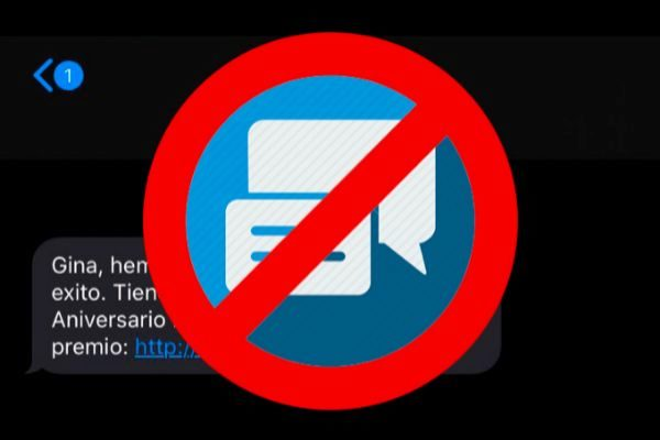 Por qué no deberías abrir los enlaces que te lleguen en un SMS