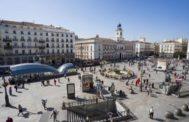 Vista de la Puerta del Sol de Madrid.