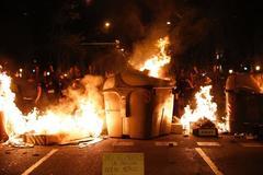Nuevos  disturbios en Barcelona