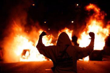 Fuego en Barcelon