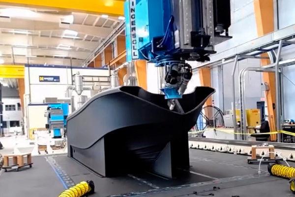 El barco '3Dirigo': así se construyó el objeto más grande impreso en 3D